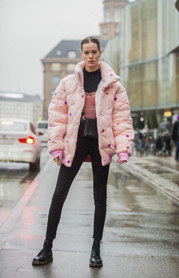 从时尚达人穿搭找灵感,学如何以最时尚的方法穿起羽绒外套!