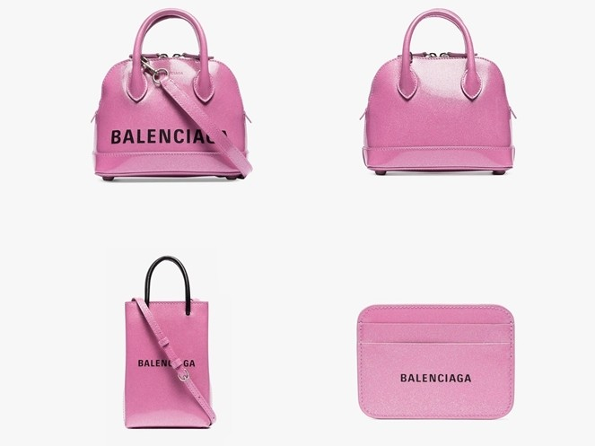 梦幻亮粉色Balenciaga新系列包款推荐