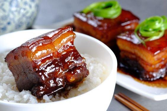 东坡肉高油高咸高热量肥肉